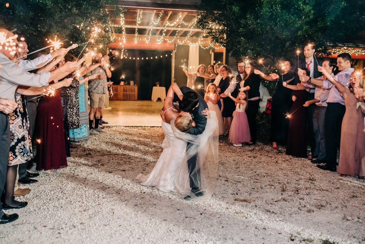 rustic country themed wedding venue
