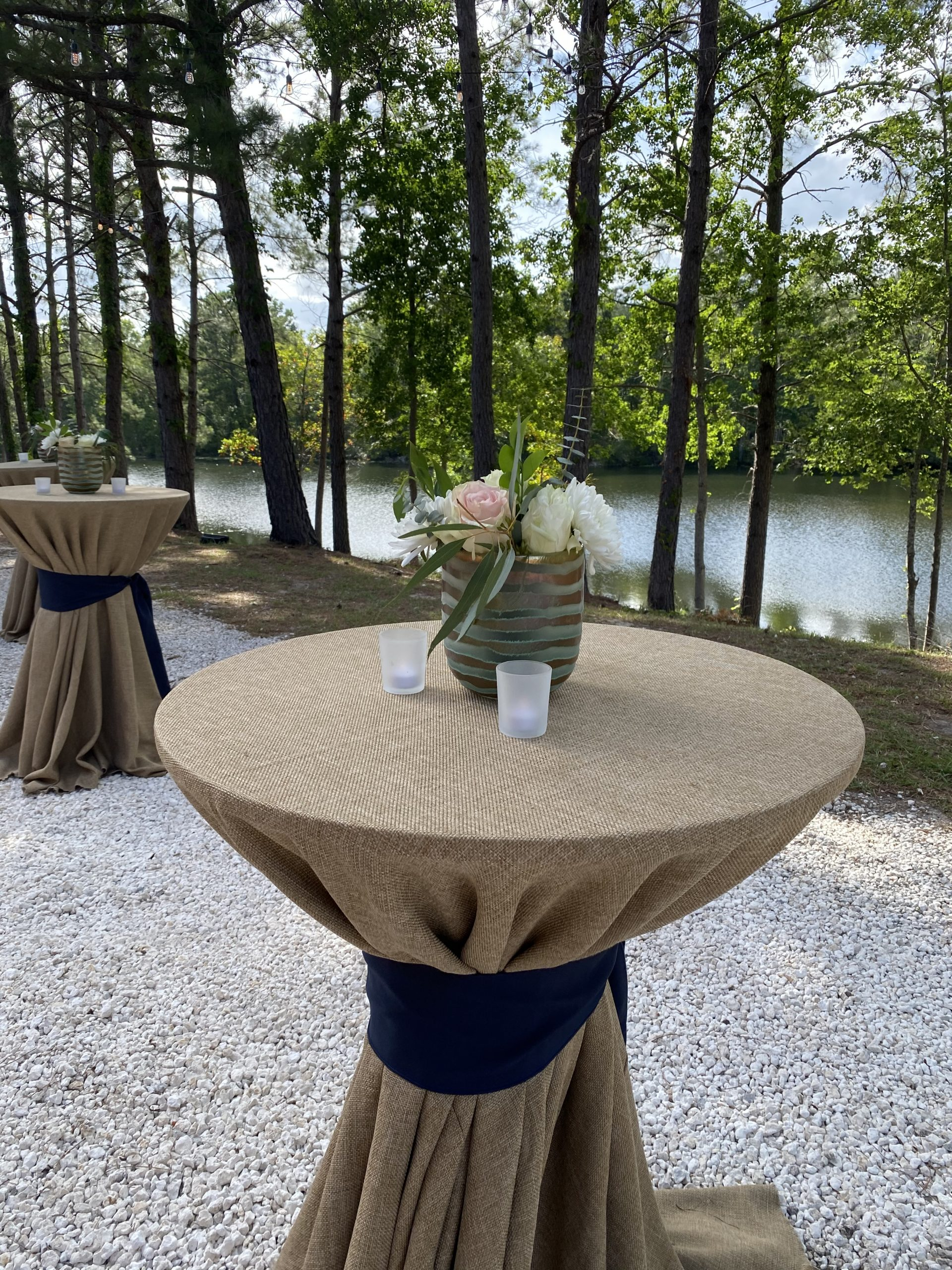 outdoor wedding reception cocktail ideas