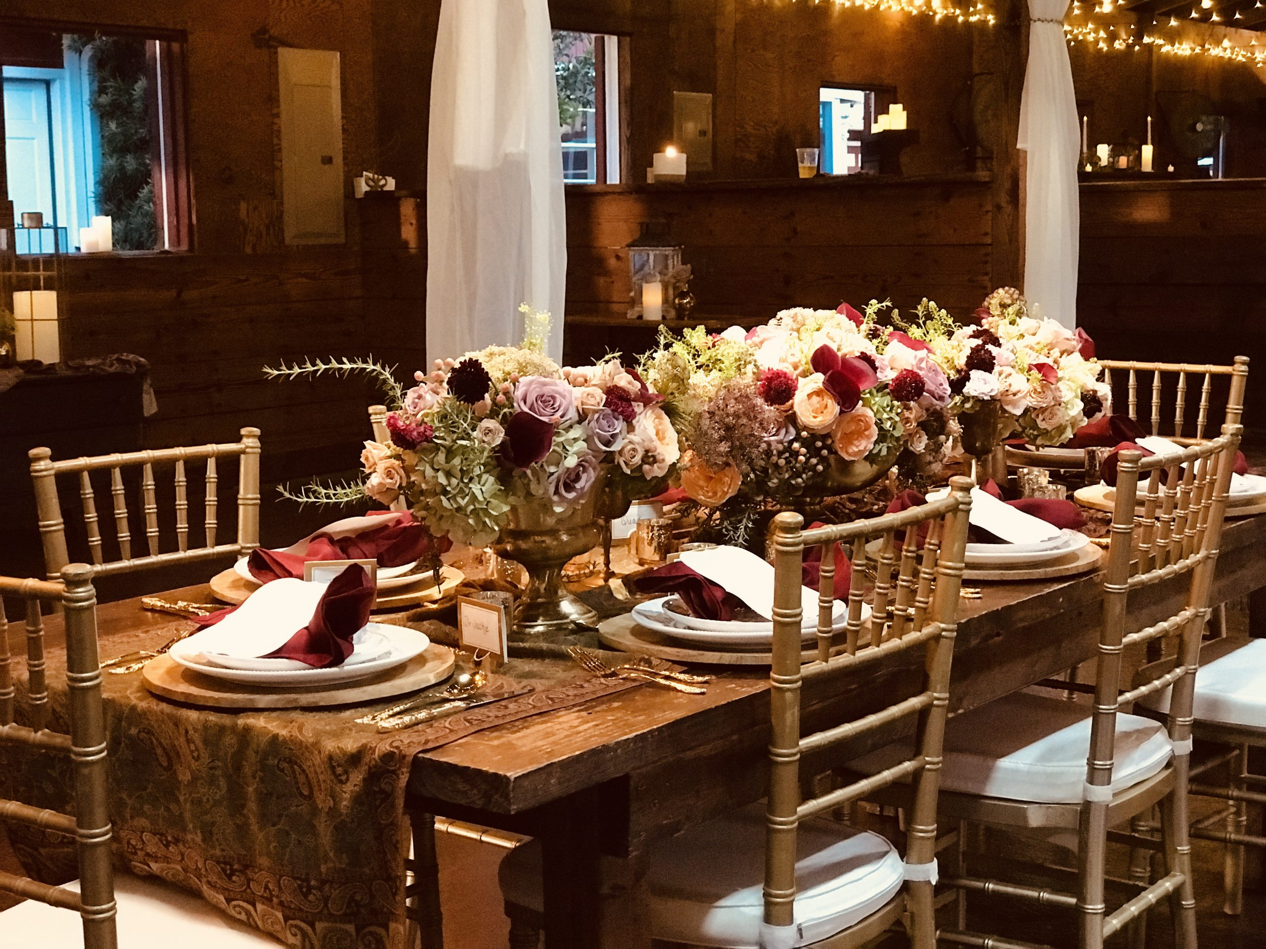 private holiday party venue