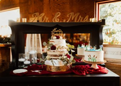 Rustic wedding at The Barn at Red Gate Farms